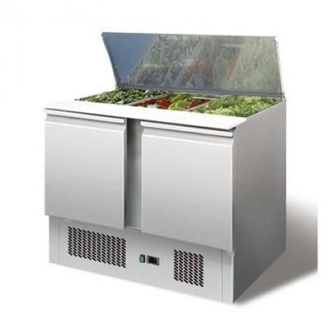 Saladette 2 Türen 300 Liter GN 1/1