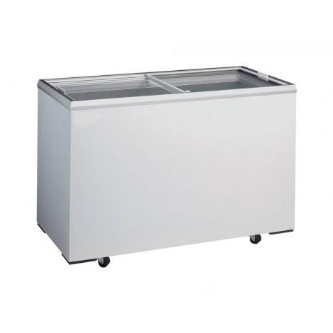 KBS Eiscreme Impuls-Tiefkühltruhe D 400, weiss, mit Stiller Kühlung und keine Beleuchtung, 921042