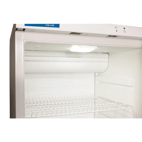 NordCap Glastürkühlschrank CD 350 LED Umluft