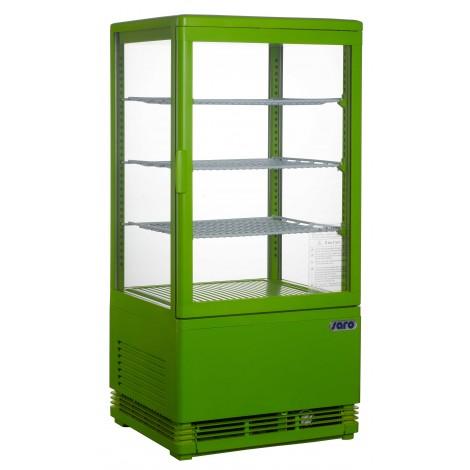 Mini-Umluftkühlvitrine SC70 Green