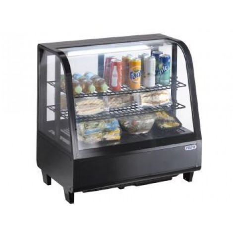 Tisch-Kühlvitrine Modell KATRIN black