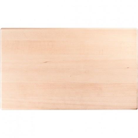 Schneidbrett aus Holz, 500 x 300 x 20 mm (BxTxH)