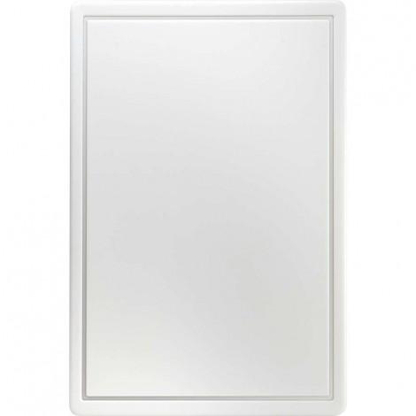 Schneidbrett, HACCP, Farbe weiß, 450 x 300 x 13 mm (BxTxH)
