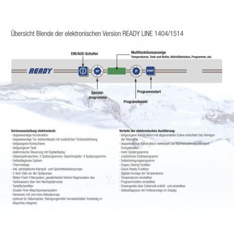 KBS - Gläserspülmaschine - Ready 1404AP - 230V