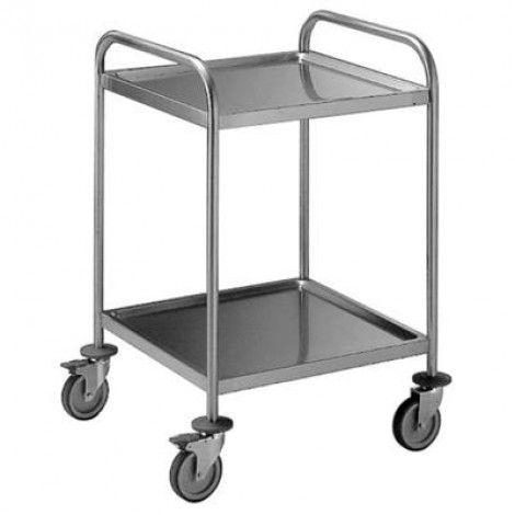 Servierwagen, 1000x500 - 2 Ablageböden