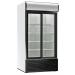KBS Glastürkühlschrank KBS 1250 GDU, weiss, mit Umluftkühlung und Beleuchtung, 60205